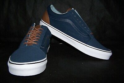 VANS Old Skool (C&L) Men's Skaters Dress Blues & Acid Denim Size 12 NIB! SWEET!