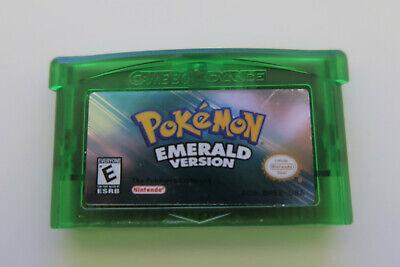 Pokemon Emerald Game Boy Advance USA Seller Fast Free Shipping