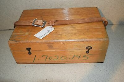 Jm Brunson Instrument Corp Model 381 Storage Box C1
