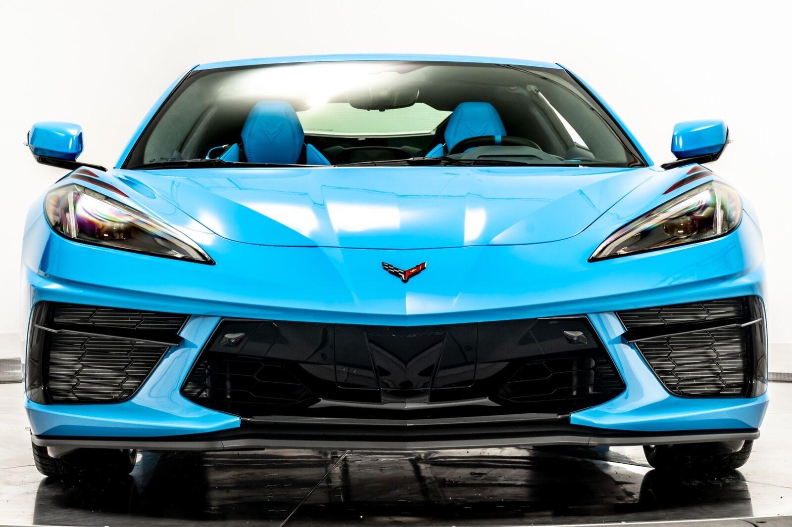 2021 Blue Chevrolet Corvette  3LT   C7 Corvette Photo 3
