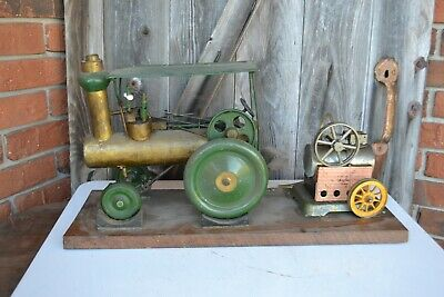Antique Vintage Live Steam Tractor