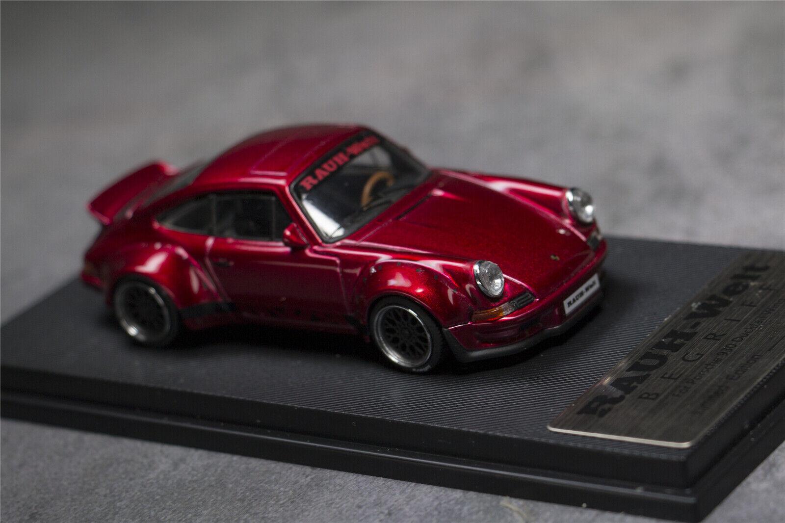 Model Collect 1 64 Porsche 911 930 964 Turbo Rwb Duck Tail Diecast Car Model Red Contemporary Manufacture Toys Hobbies Japengenharia Com Br