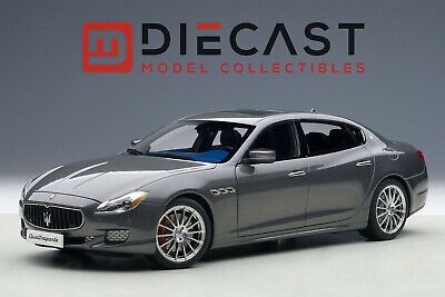 AUTOart 75806 Maserati Quattroporte GTS 2015, Maratea Grey 1:18TH Scale