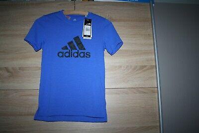 T-Shirt gr.140 blau adiddas PRIME TEE neu  - Blau Prime T-shirt
