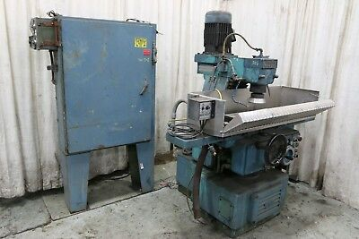 8 X 24 Abwood Vertical Spindle Rotary Surface Grinder Yoder 69226