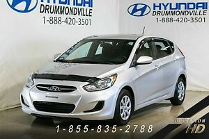 Hyundai Accent 2012 + GL + HATCHBACK + A/C + CRUISE + GROUPE ÉLE