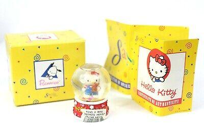 Hello Kitty Valentine (Rare 1997 Sanrio Hello Kitty Mini Snow Globe Snow Globe Valentines)
