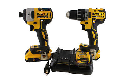 DeWALT DCK283D2 MAX XR Lithium Ion Brushless Drill Driver and Impact Combo Kit