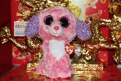 "TY BEANIE BOOS LONDON THE DOG.CLAIRE'S EXCLUSIVE MEDIUM. 9"".2016.MWNMT.NICE GIFT"