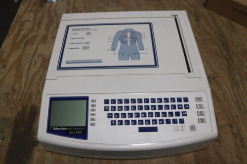 MORTARA ELI 250 ELECTROCARDIOGRAPH EKG ECG MACHINE