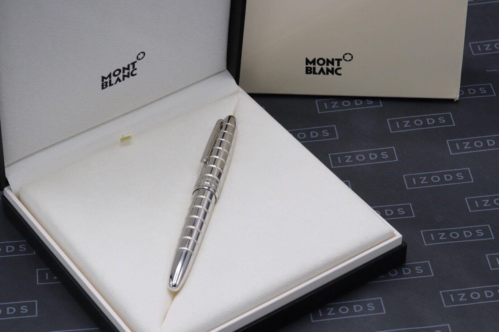 Montblanc Meisterstuck LeGrand Platinum-Plated Facet Fountain Pen 10