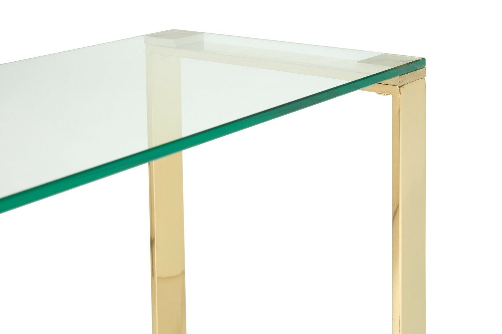 asger glass top console table in steel gold or rose gold metal . asger glass top console table in steel gold or rose gold metal frame