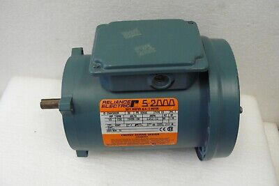 Reliance Electric Ac Motor C56h3002r Single Phase 13hp