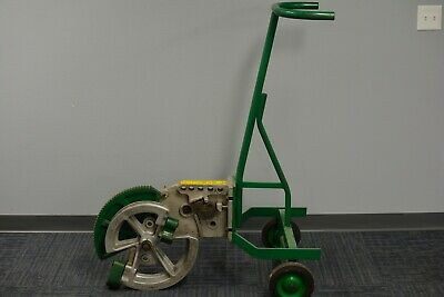 Greenlee 1818 Mechanical Pipe Bender For 12 34 1 - Good Pre-owned Cond.