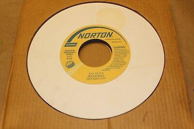 Norton Grinding Wheel 12x12 X1 3 Rpm2070 38a100-i8vg Qnt1