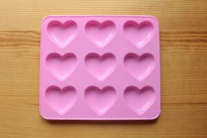 Shiny Puffy Hearts Silicone Mold for Resin, Food, & More