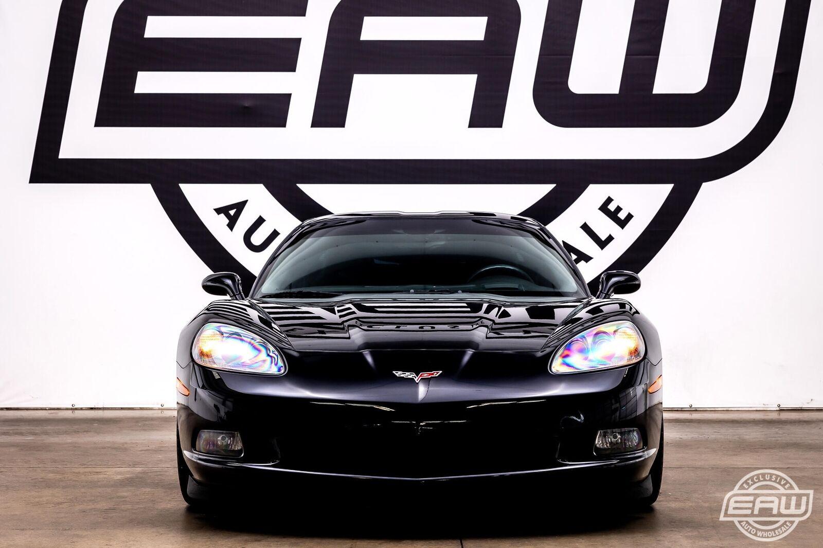 2007 Black Chevrolet Corvette Coupe  | C6 Corvette Photo 6