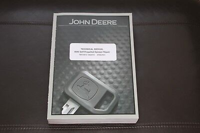 John Deere 4940 Self-propelled Sprayer Service Repair Manual Tm113619
