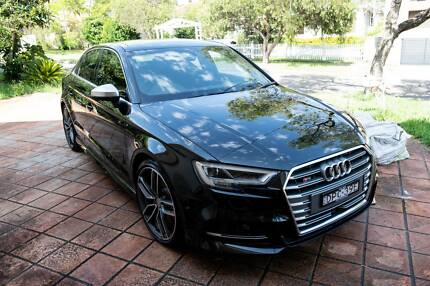 Audi S3 2017 Mythos Black Sedan Automatic MY17 Revesby Bankstown Area Preview