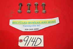 John Deere Mower Engine Motor Mount Bolt Screw Set M8-1.25 x 35 mm