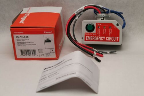 LeGrand - Wattstopper ELCU-200 Emergency Lighting Control Unit 120/277V - Grey