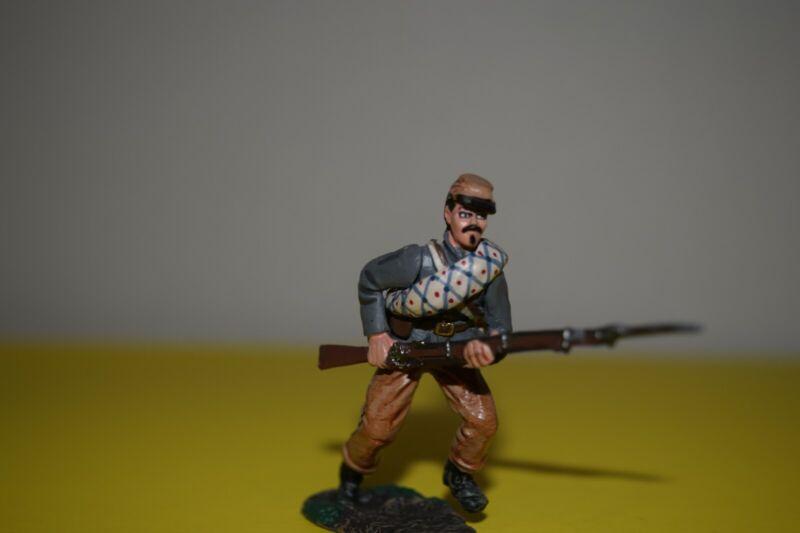 DelPrado 54mm toy soldier confederate soldier