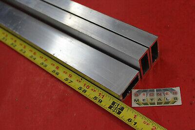 3 Pieces 34x 1-12x 18 Wall Aluminum Rectangle Tube 60 Long 6063 T52