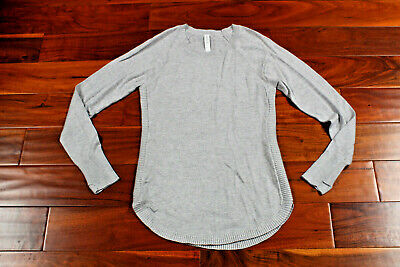 LAST ONE NWT Lululemon Hello Aloe Pullover Sweater HTSV Heather Gray 4 $118