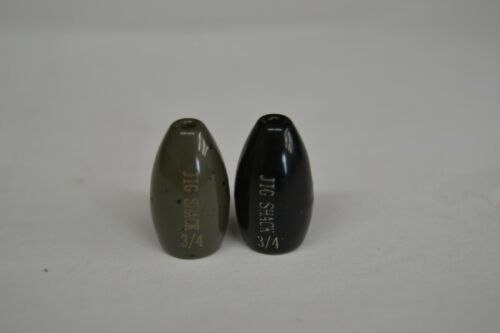 JIG SHACK TUNGSTEN FLIPPING WEIGHTS! ALABAMA SHIPPING MULTIPLE SIZE AND COLOR.