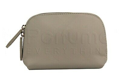Burberry Beauty Pouch Makeup Cosmetic Bag Beige (Beige Pouch)