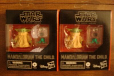 2 Hasbro Star Wars Black Series The Child Figures Mandalorian ( Baby Yoda ) NEW