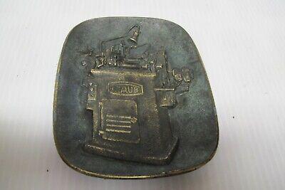 Antique Hermann Traub Metalworking Machine Plaquereichenbachfils-automaten