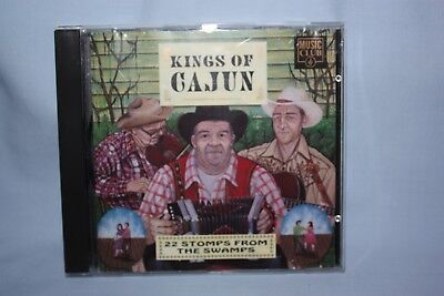 Various Artists - Kings of Kajun - CD - 22 Stomps from the Swamps