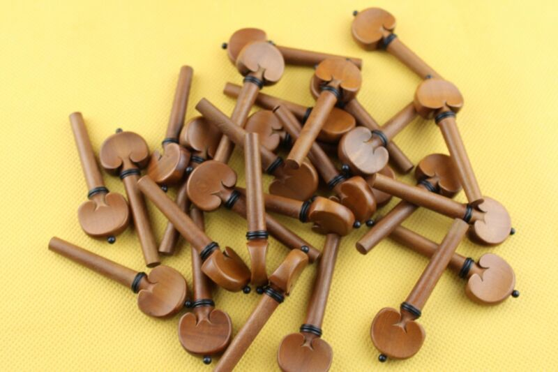 20pcs high quality Jujube wood Viola Pegs Viola Tuning Pegs viola parts