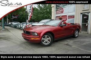 2005 Ford Mustang CONVERTIBLE  CUIR