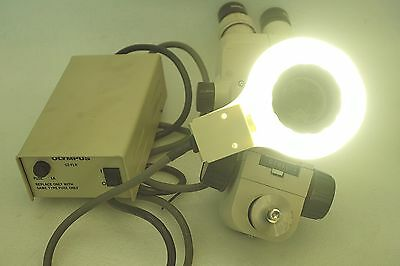 Olympus Sd-stb2 Microscope Sz40 Gswh20x12.5 Controller Sz-flr Power On Tested