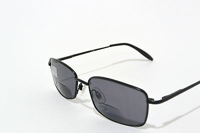 BIFOCAL READING SUNGLASSES with SPRING HINGES power +2.50 BLACK (Sunglasses With Reading)