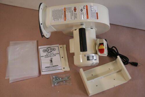 Shop Fox W1844 Wall Dust Collector Replacement Motor Portion Only