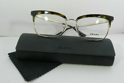 Prada Women's Tortoise Glasses and case VPR 08S 2AU-1O1 53mm