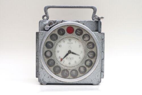 Vintage Junior Naturel Antwerp pigeon Racing Clock