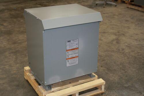New Siemens 75 KVA 3 P Transformer 480D 208Y/120 Cat 3F3Y075D16 3R