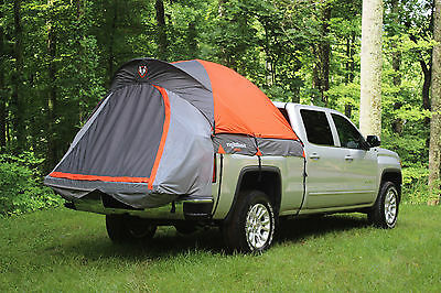 Mid Size Short Bed Truck Tent (5') & Mid Size Air Mattress Bundle (Tent Package)