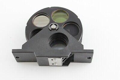 Reichert Diastar 420 Filter Wheels Microscope Gif Ncb Blue Green Nd
