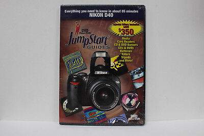 JumpStart Video Training Guide on DVD for the Nikon D40 Digital Camera