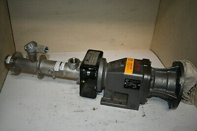 Seepex Stainless Steel Pump Cw Nord Gear Reducer