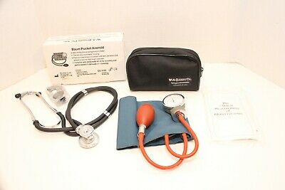 Stethoscope And W.a. Baum Co.manual Adult Blood Pressure Monitor Cuff