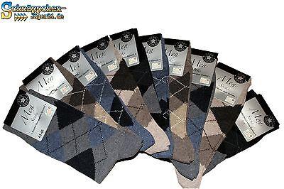 10 Paar Deutsche Qualität Baumwollmischung Herren Socken ohne Gummidruck 6535