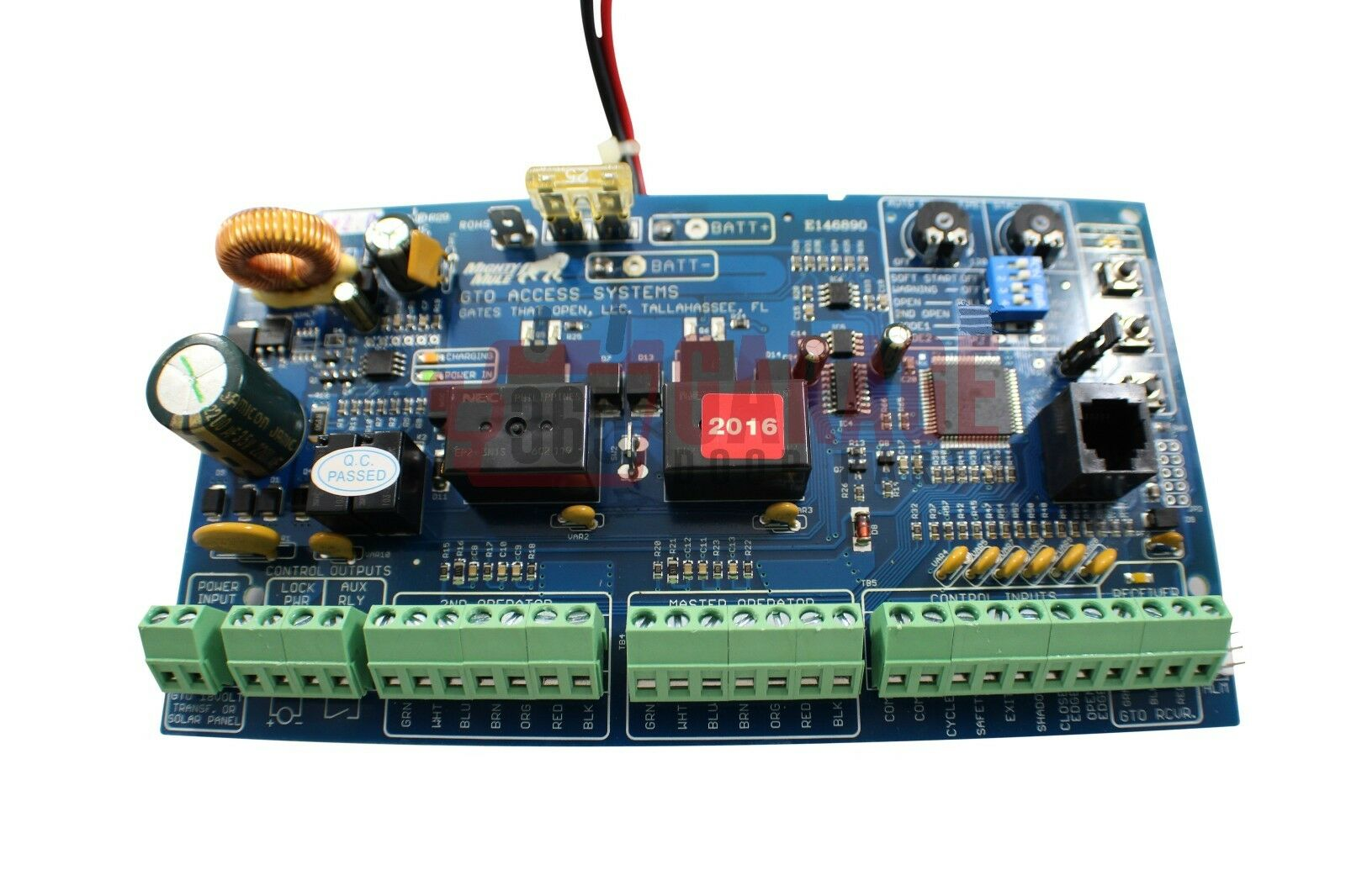 Mighty Mule R4211 Fm500 Main Control Circuit Board