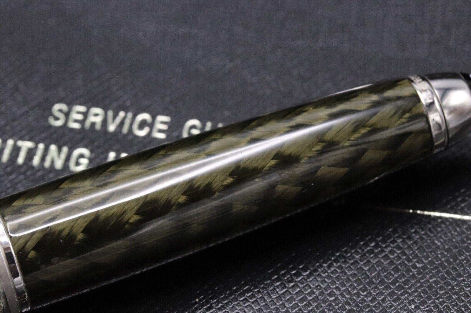 Montblanc Meisterstuck 144 Classique Carbon Steel Fountain Pen 5
