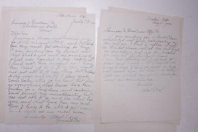 1932 Lamson Goodnow Albert Kier Berlin NH Cutlery Ephemera P026J